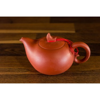 Teekrug - runde Form - Tonbraun