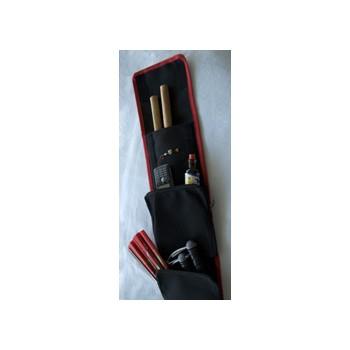 Waffentasche für Eskrima Stöcke, schwarz (Art. Nr. 10816)
