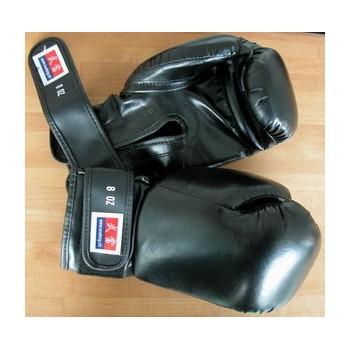"""Boxhandschuhe """"Sparring"""" PU, schwarz, 8oz (Art. Nr. 80055)"""