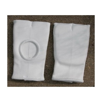 Stoffhandschützer, Finger frei, weiss, Baumwolle (Art.Nr. 10522)