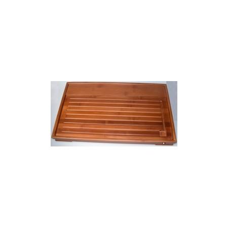 Traditionelles Teeboard aus Bambus, mit Wasserablauf (Nr.15001)